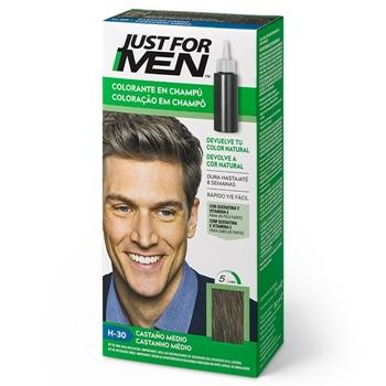 Just For Men Colorante en Champú H-30 Castaño Medio