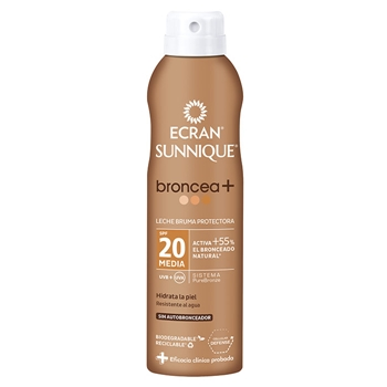 Sunnique Broncea+ Bruma Protectora SPF20 de Ecran