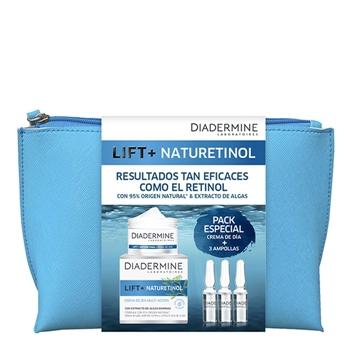 Diadermine Lift+ Naturetinol Crema de Día Estuche 50 ml + 3 Ampollas + Neceser