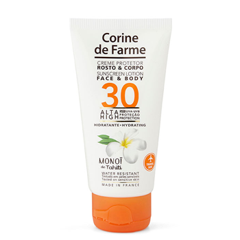 Crema Protector Rostro y Cuerpo SPF30 de Corine de Farme