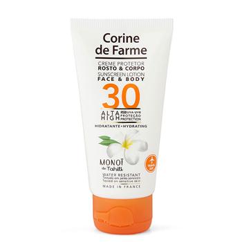Corine de Farme Crema Protector Rostro y Cuerpo SPF30 50 ml