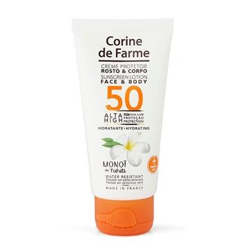 Crema Protector Rostro y Cuerpo SPF50 de Corine de Farme