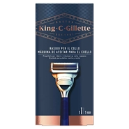 KING C. GILLETTE Maquinilla de Cuello de Gillette