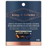 KING C. GILLETTE Máquina de Afeitar y Perfilar Recambios de Gillette