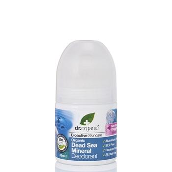 Dr. Organic Desodorante Roll-On Minerales del Mar Muerto 50 ml