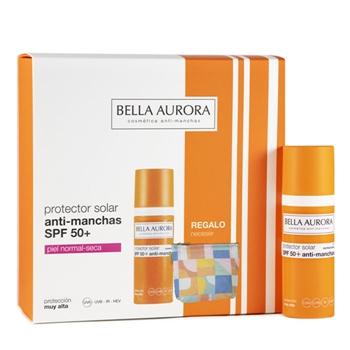 Fluido Solar Anti-Manchas SPF50+ Estuche de Bella Aurora