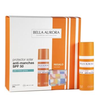 Gel Solar Anti-Manchas SPF50 Estuche de Bella Aurora