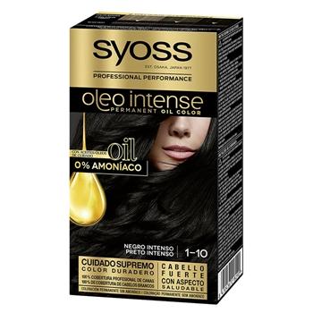 Syoss Oleo Intense Coloración 1-10 Negro Intenso 1 Unidad