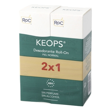 Roc Desodorante Roll-On Piel Normal 30 ml + 30 ml