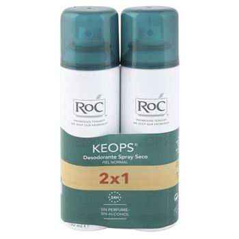 Roc Desodorante Spray Seco 150 ml + 150 ml