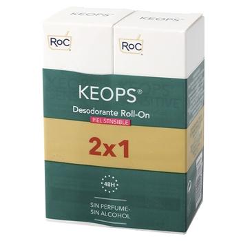 Roc Desodorante Roll-On Piel Sensible 30 ml + 30 ml