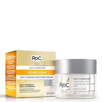 Roc Multi Correxion Revive + Glow Crème Unificatrice 50 ml