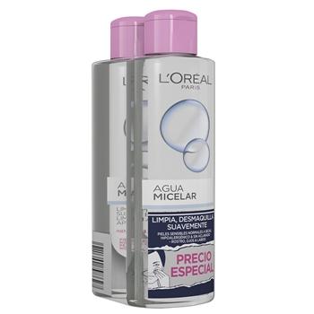L'Oréal Agua Micelar 400 ml + 400 ml