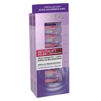L'Oréal Revitalift Ampollas Hialurónicas Rellenadoras 7 Unidades + 7 Unidades