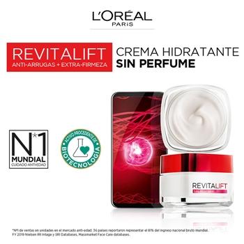 Revitalift Crema Día Sin Perfume de L'Oréal