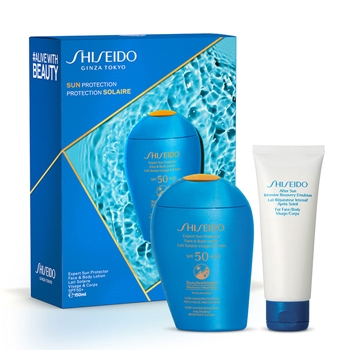Shiseido Expert Sun Aging Protection Lotion Plus SPF50 Estuche 150 ml + After Sun Intensive Recovery Emulsion 75 ml
