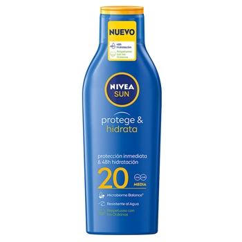 NIVEA Protege & Hidrata Loción Solar SPF20 200 ml
