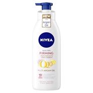Q10 Plus Argan Oil Body Milk Reafirmante de NIVEA