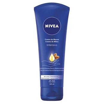 NIVEA Crema de Manos Intensivo Aceite de Almendras 100 ml