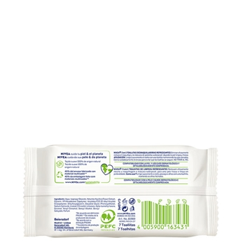 Toallitas Desmaquilladoras Biodegradables Mini de NIVEA