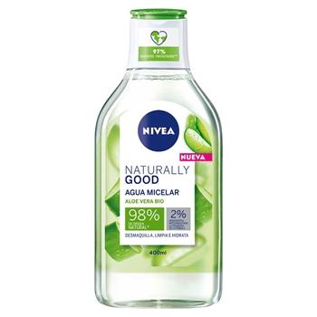 NIVEA Naturally Good Agua Micelar 400 ml