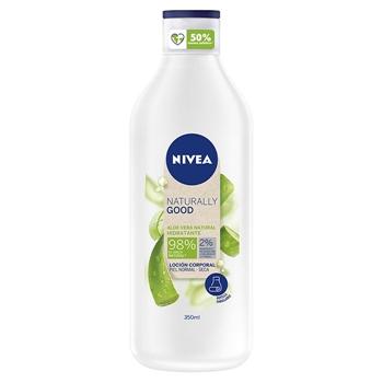 NIVEA Naturally Good Loción Corporal Hidratante Aloe Vera 350 ml