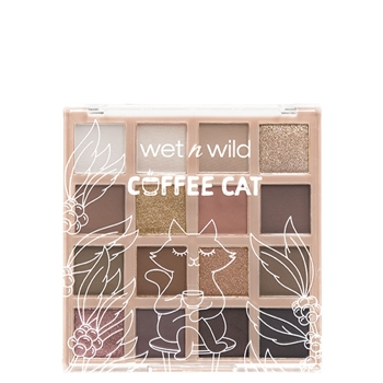 Wet N Wild Color Icon Shadow Palette Coffee Cat