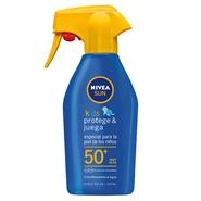 Protege & Juega Spray Solar Niños SPF50 de NIVEA