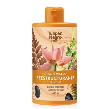 Tulipán Negro Champú Micelar Reestructurante del Color 400 ml