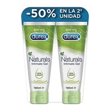 Durex Naturals Intimate Lubricante 100 ml + 100 ml