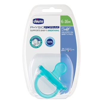 Chupete Physio Soft Azul 6-16 Meses de CHICCO