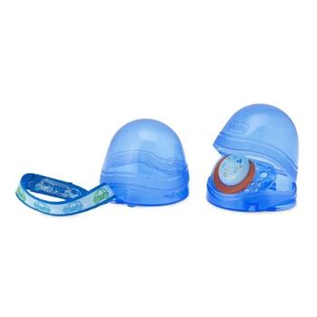 Portachupetes Doble Azul de CHICCO