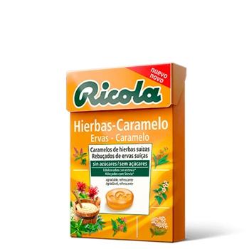 Ricola Caramelos Hierbas-Caramelo 50 gr