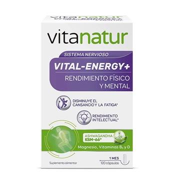 Vitanatur Vital-Energy + 120 Cápsulas