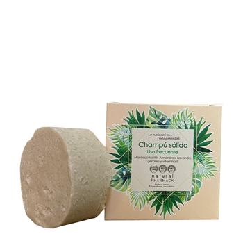 Natural Pharmack Champú Sólido Uso Frecuente 65 grs aprox.