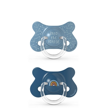Suavinex Chupetes Prêt-à-porter +18 meses 2 Unidades (Colores Aleatorios)