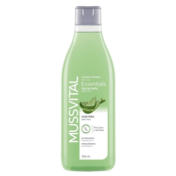 Essentials Gel de Baño Aloe Vera de Mussvital