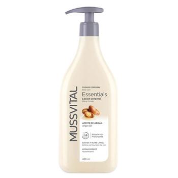 Mussvital Essentials Loción Corporal Aceite de Argán 400 ml