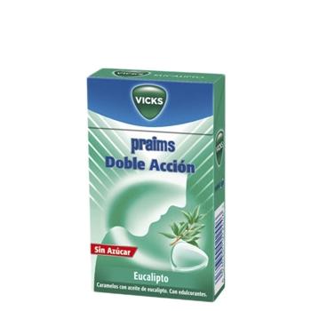 Vicks Praims Doble Acción Caja Caramelos 40 gr