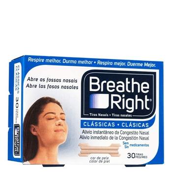 Breathe Right Tiras Nasales Clásicas Pequeñas 30 Unidades