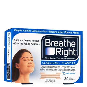Tiras Nasales Clásicas Pequeñas de Breathe Right