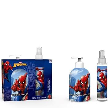MARVEL Spiderman Estuche Eau de Toilette 150 ml Vaporizador + Jabón de Manos 500 ml