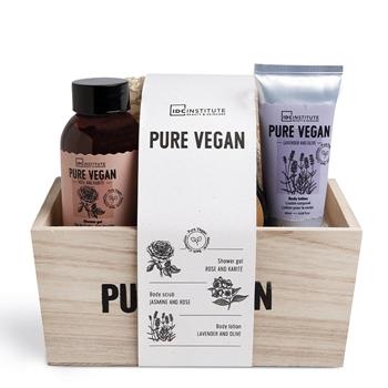 IDC INSTITUTE Pure Vegan Caja Madera Estuche 5 Productos