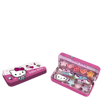 Hello Kitty Plumier Metálico Estuche 3 Pisos